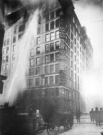 triangle fire 1911 A dropped match on the 8th floor of the triangle shirtwaist factory sparked a fire that killed over a hundred funding for triangle fire provided by liberty.